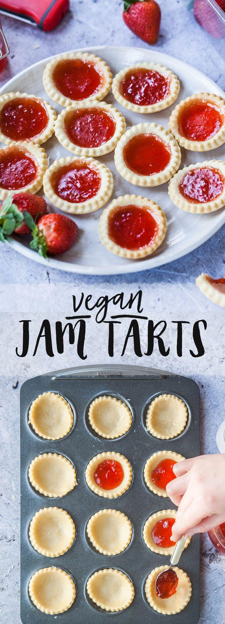 Vegan Jam Tarts