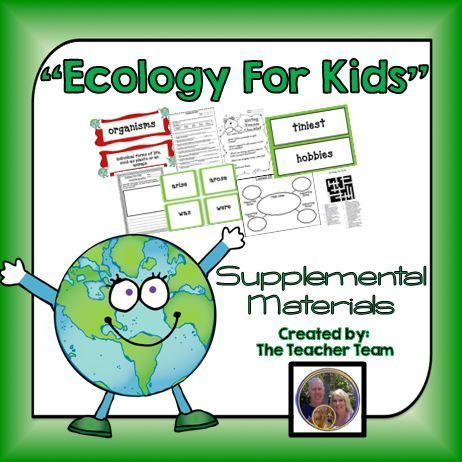 Ecology For Kids Journeys 4th Grade Unit 3 Lesson 15 Activities ...