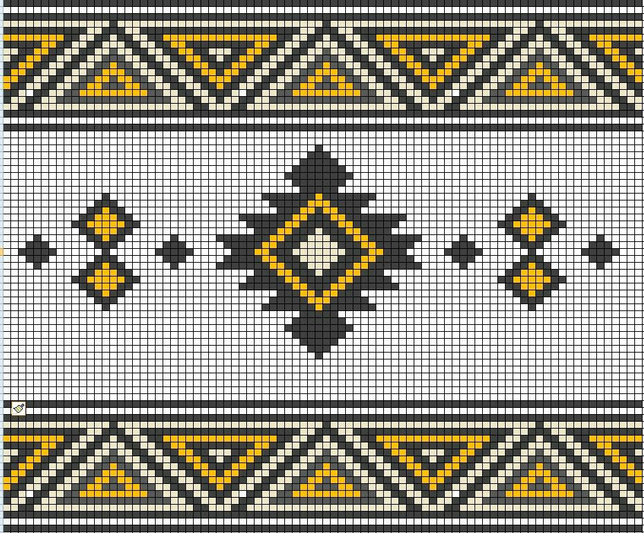 Wayuu Mochila pattern | wzory gobelinowe | Pinterest | Mochilas ...