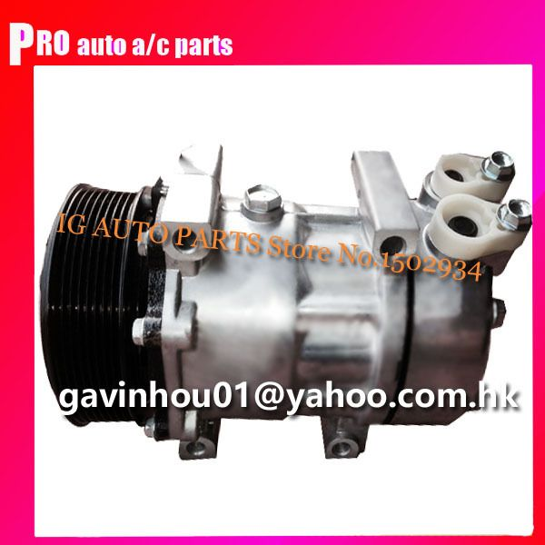 10pv Sd7h15 Car Auto Ac Compressor Air Conditioning Installation