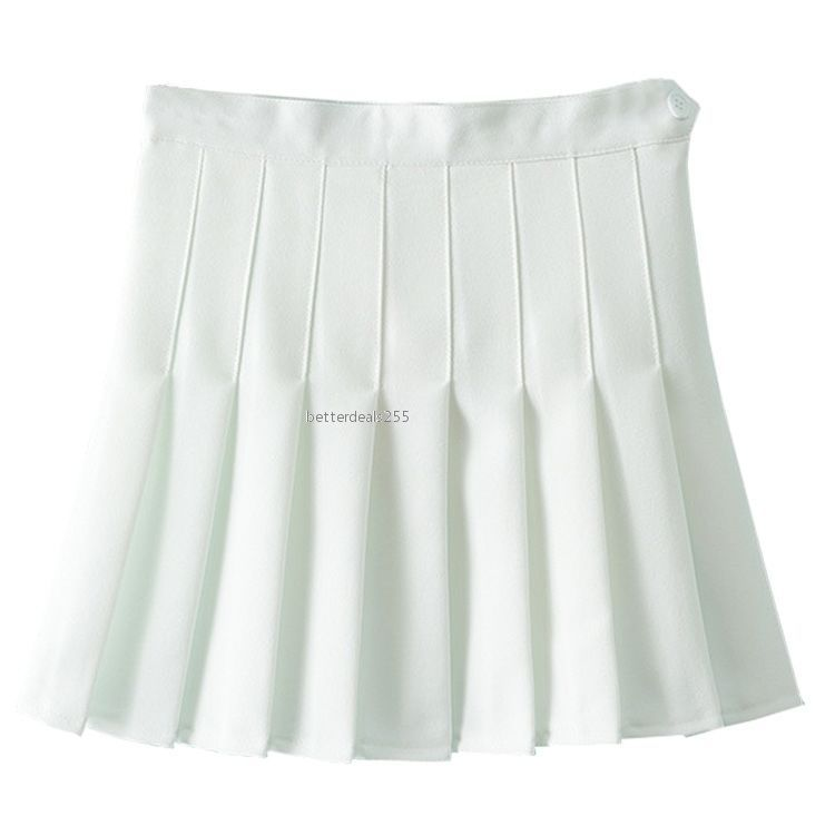 584dccd4d7 2.56AUD - Women Girls Cute High Waist A-Line Pleated Skirt Tennis Solid  Mini Skater Skirt #ebay #Fashion