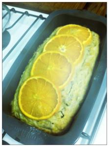 Orange Banana Bread
