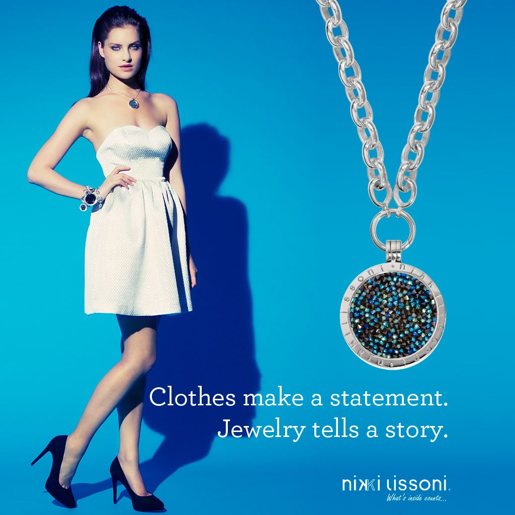 """Clothes make a statement. Jewelry tells a story."""