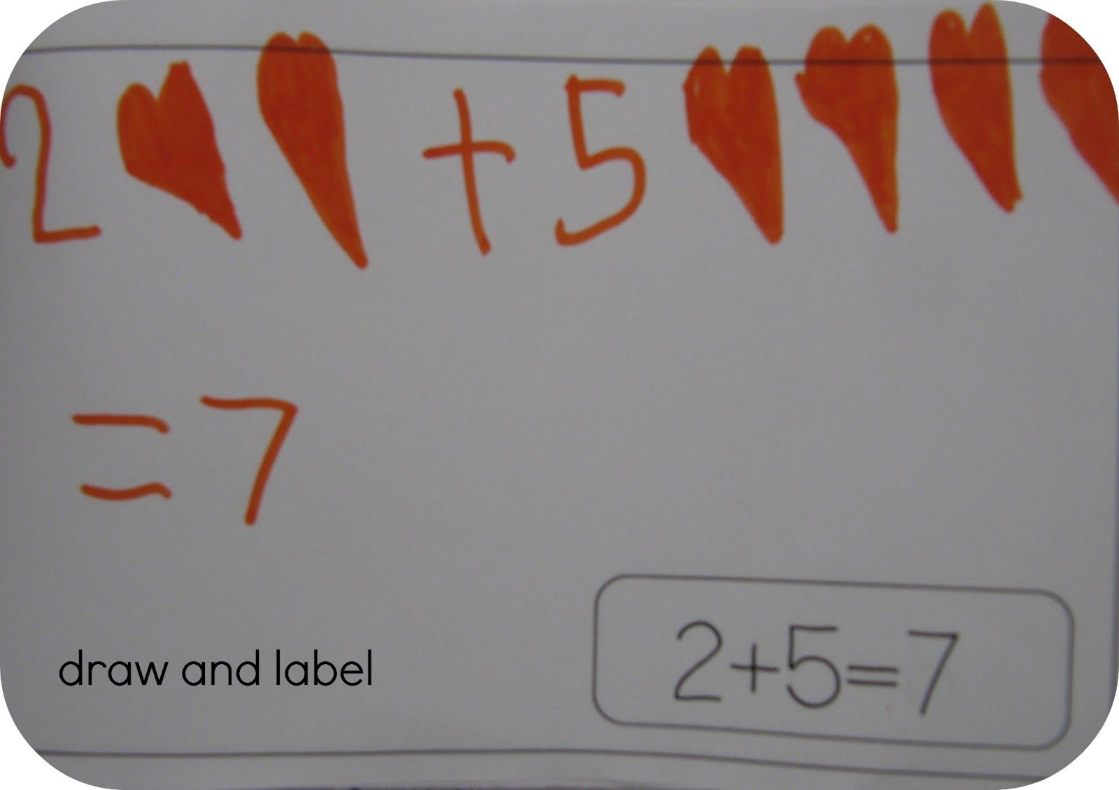 Draw And Label It Math Book