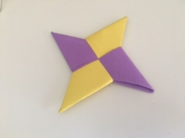 How To Make a Paper Transforming Ninja Star #2 - Origami - YouTube | 478x640