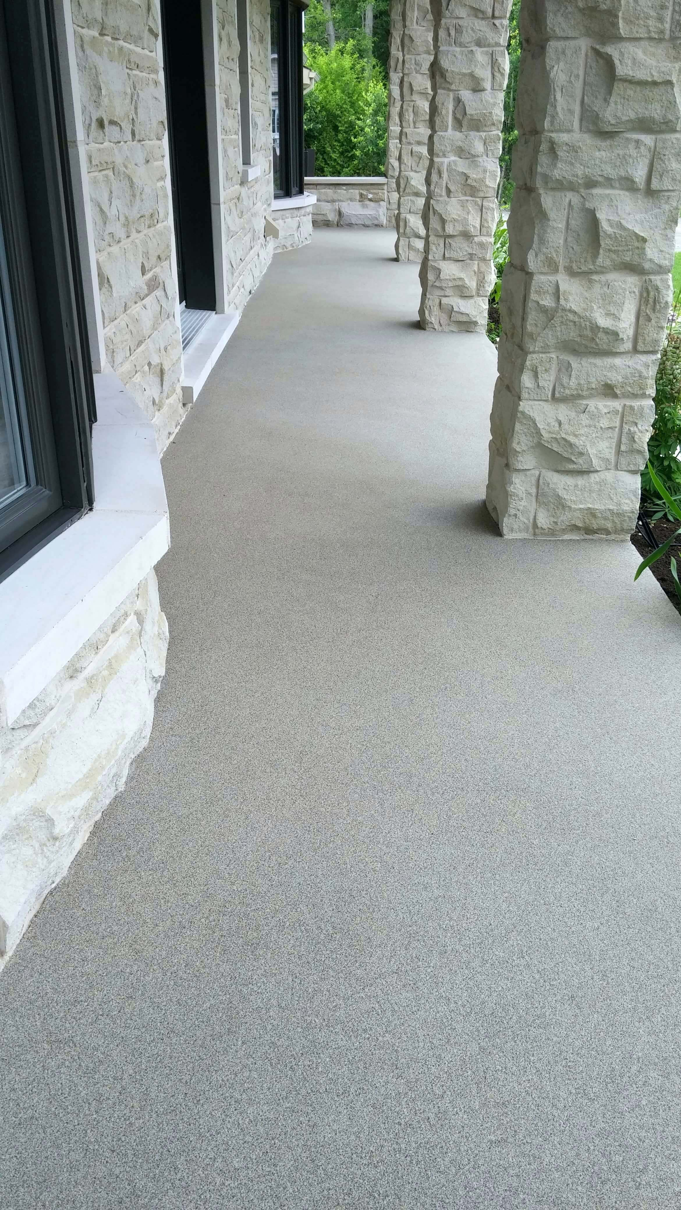 peinture sol beton exterieur antiderapant les balcons paliers marches trottoirs contour de piscine patio terrasse et - Peinture Sol Beton Exterieur Antiderapant