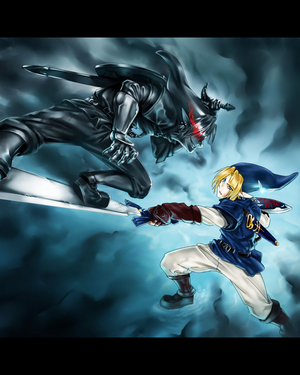 Link Vs Dark Link Animation