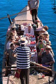 Gondola Getaway Entertaining Cruises In The Cs Of Naples Is Long Beach Ca