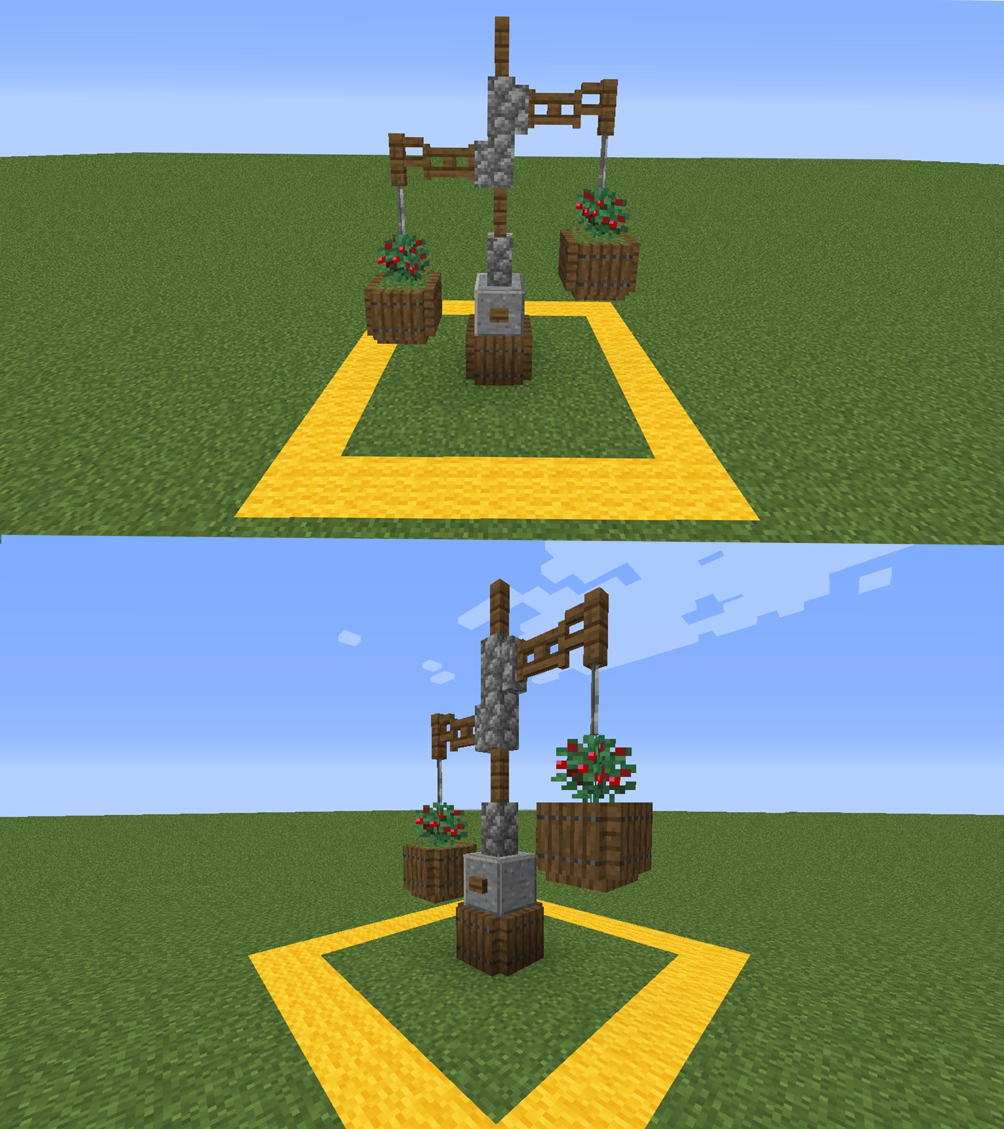Small Garden (1.14) : Minecraft | Minecraft designs ...