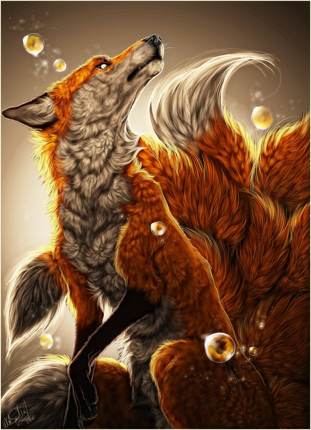 Golden By White Spirit Wolf On Deviantart Fox Art Fox