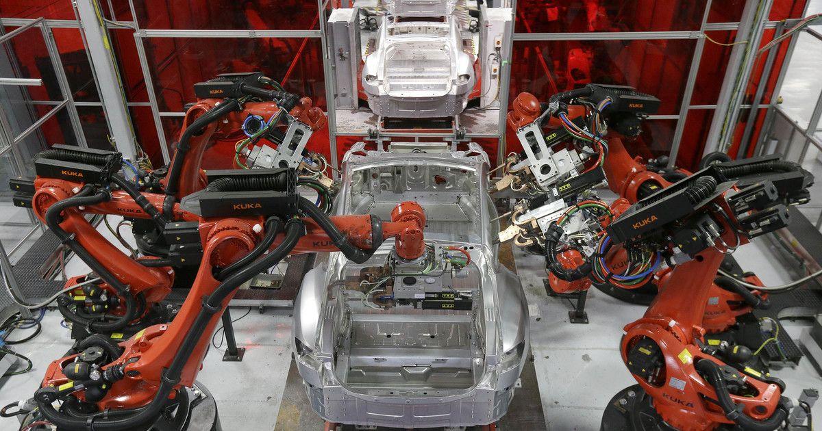 Robotic Help Cool Technology Tesla Robot