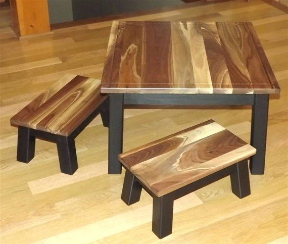 Desk Wooden Childrens Table And Chairs Set Baby Wooden Table And ...