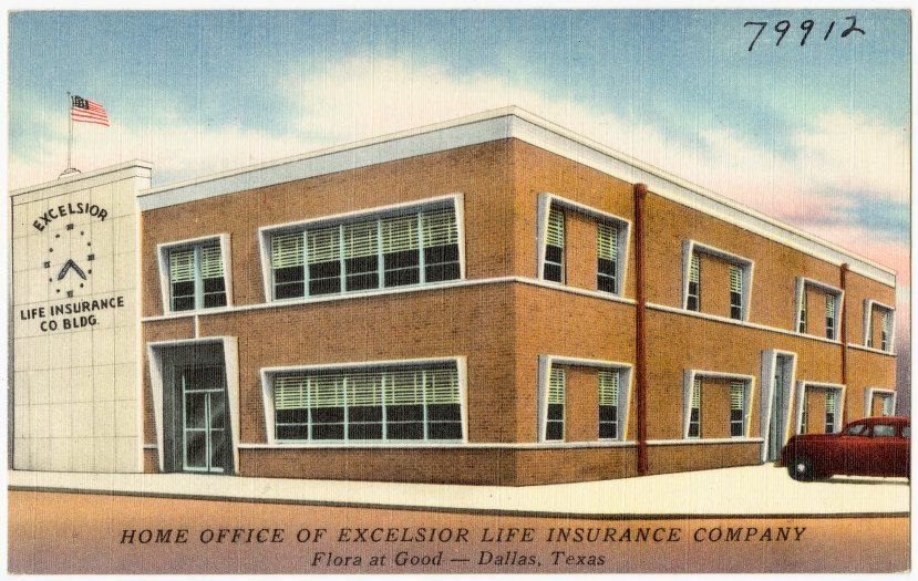 Title Home Office of Excelsior Life Insurance Company