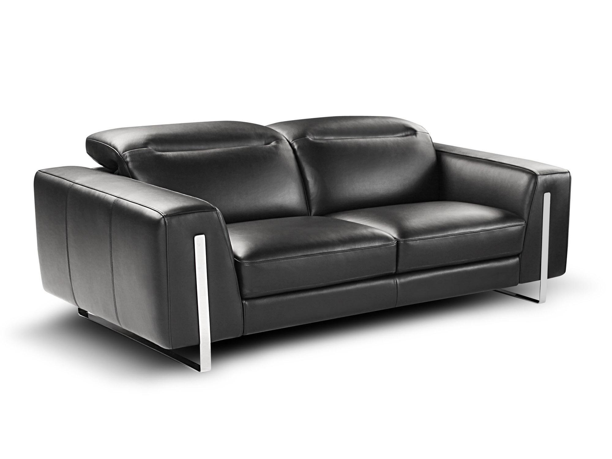 Bon Contemporary Black Sofa By Calia Nicoletti Oritsei Sofa Group
