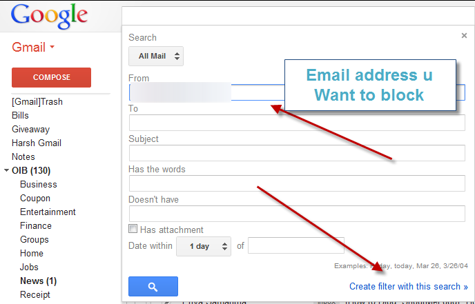 How To Block Email Address In Gmail Quick Meditation Gmail Addressing