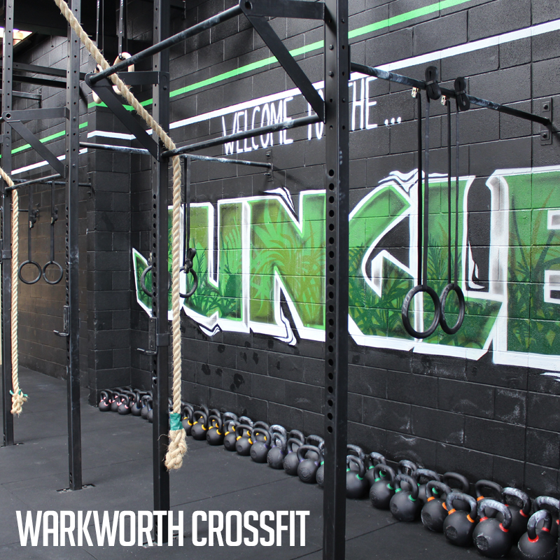 Industrial athletic custom rig and gym equipment at warkworth
