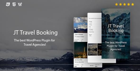 JT Travel Booking - New version with new features, styles and bug fixes.
