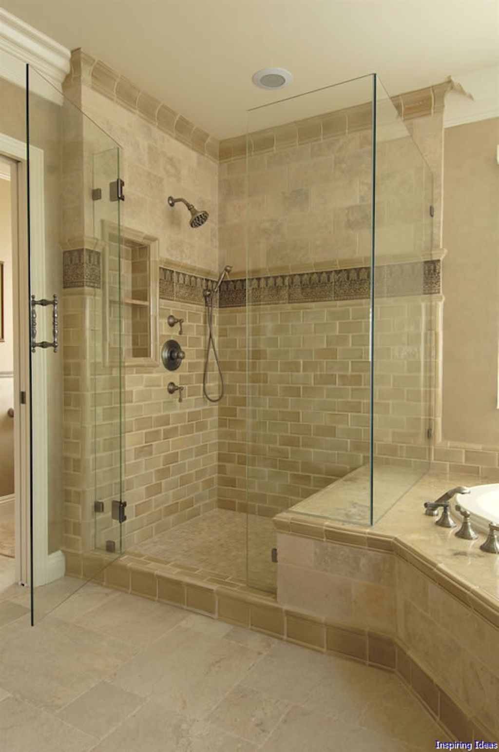 016 Cool Bathroom Shower Remodel Ideas With Images Bathroom
