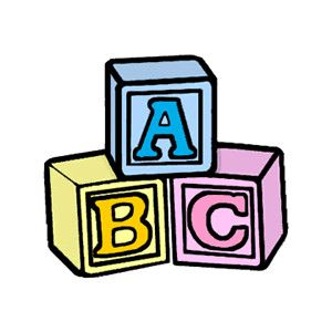 abc blocks baby wrt pinterest clip art chrochet and cards rh pinterest com baby girl blocks clipart baby building blocks clipart