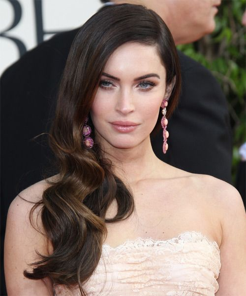 15 Classy Celebrities Side Swept Hairstyles For All Face Shapes Pretty Designs Megan Fox Hair Side Swept Hairstyles Hair Styles
