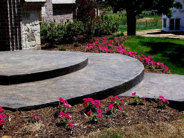 landscaping concrete colleyville