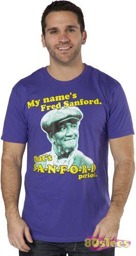 Sanford /& Son Funny TV Show Fred The Original Pawn Star Adult T Shirt REDD FOXX