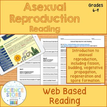 Photo of Asexual Reproduction Web Based Reading Activity