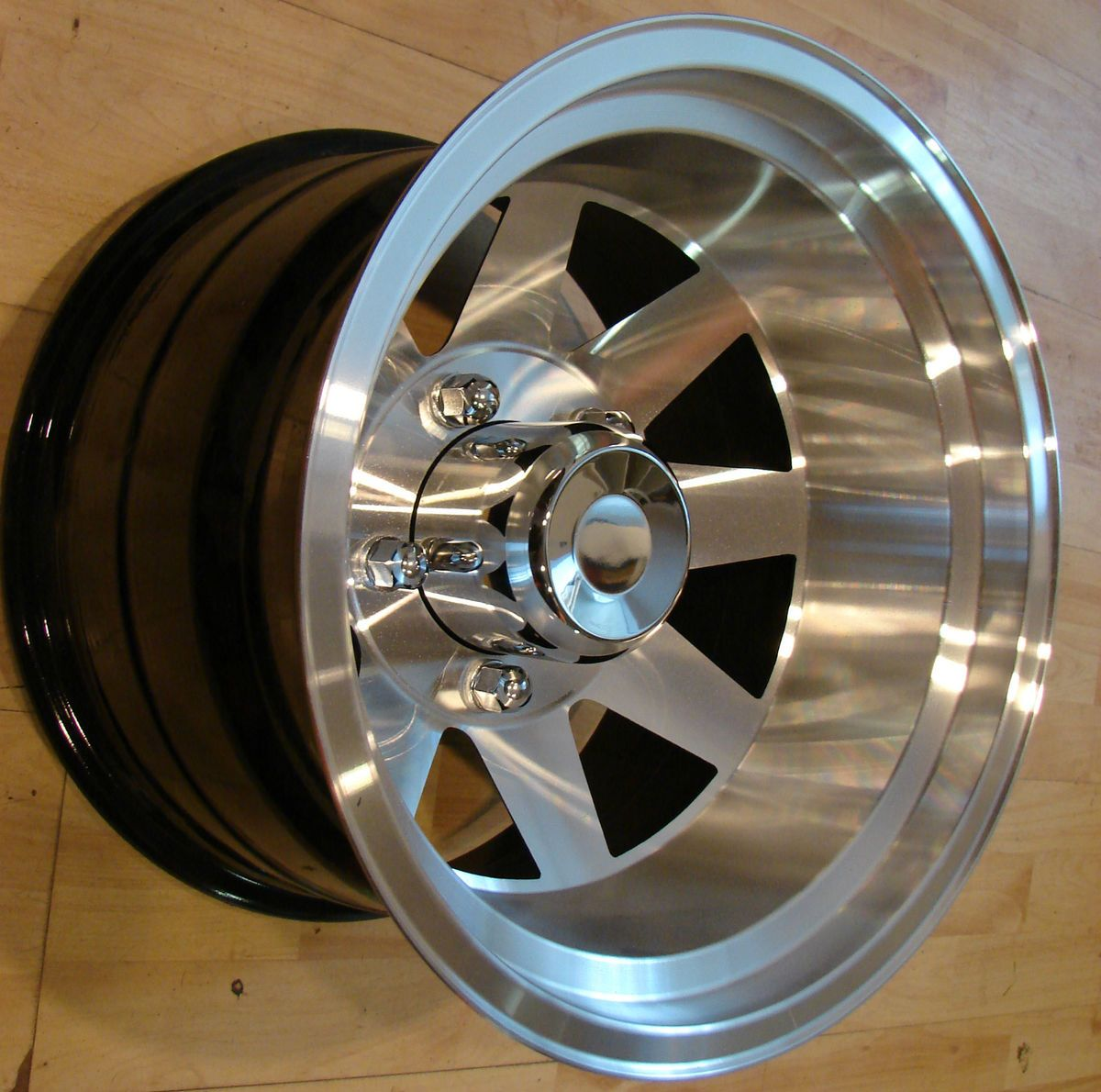 15x10 Aluminum Jackman Style Wheels Rims Mags 5x5 5 Ford Bronco F