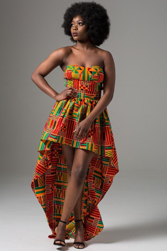 African Print Dress African Clothing For Women African