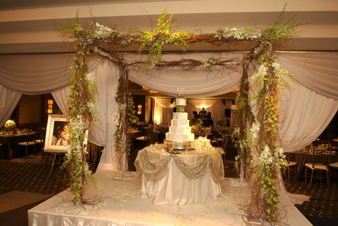 Cake table and Wedd…