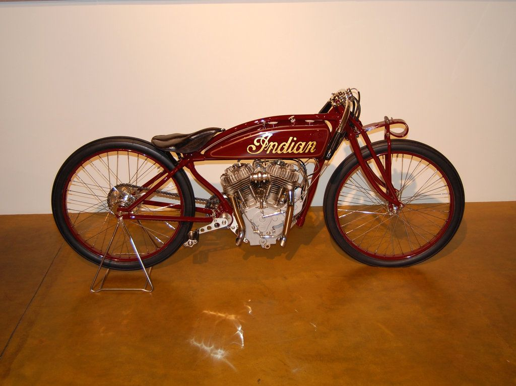 Antique Indian Motorcycle By Partywave On Deviantart Vintage