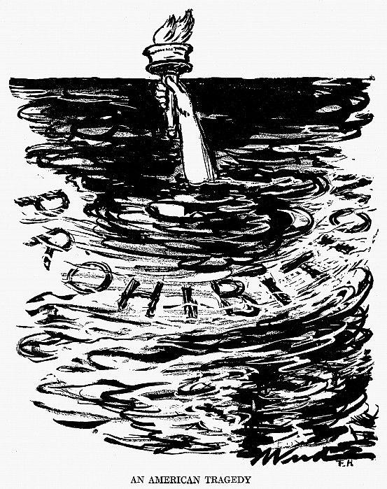 Prohibition Political Cartoon The Roaring 20s Pinterest