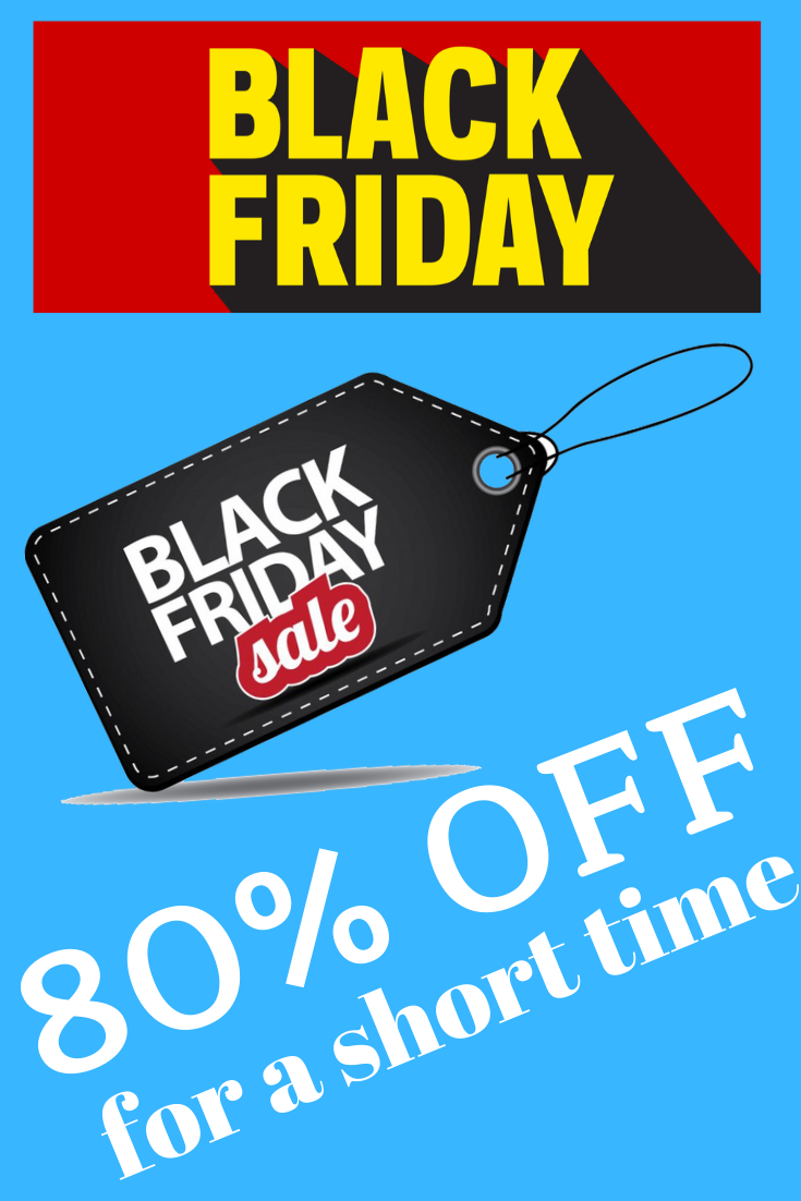 80% OFF Black Friday Discount & Deals 2019 #blackfriday #blackfriday2019 #cybermonday