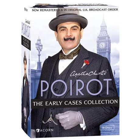 Agatha Christie's Poirot: The Early Cases Collection Dvd & Blu-ray - DVD #bluray