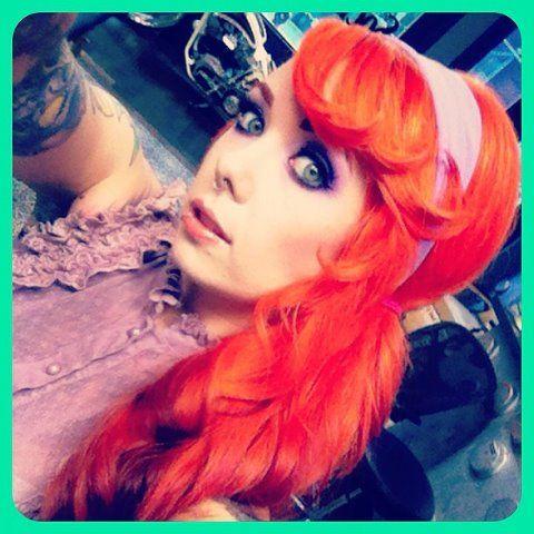 Punk rock beauty queen! Megan Massacre!