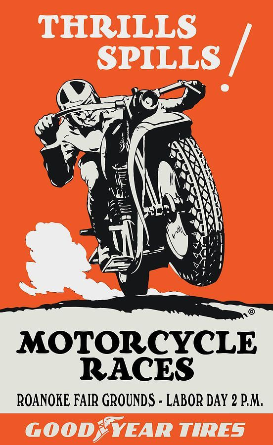 image result for old motorcycle flyers