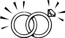Image result for interlocking wedding rings clipart Wedding