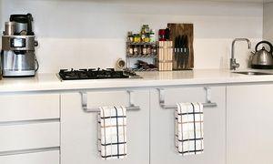 Credenza Moderna Groupon : Groupon fino a porta strofinacci in acciaio inox da cucina
