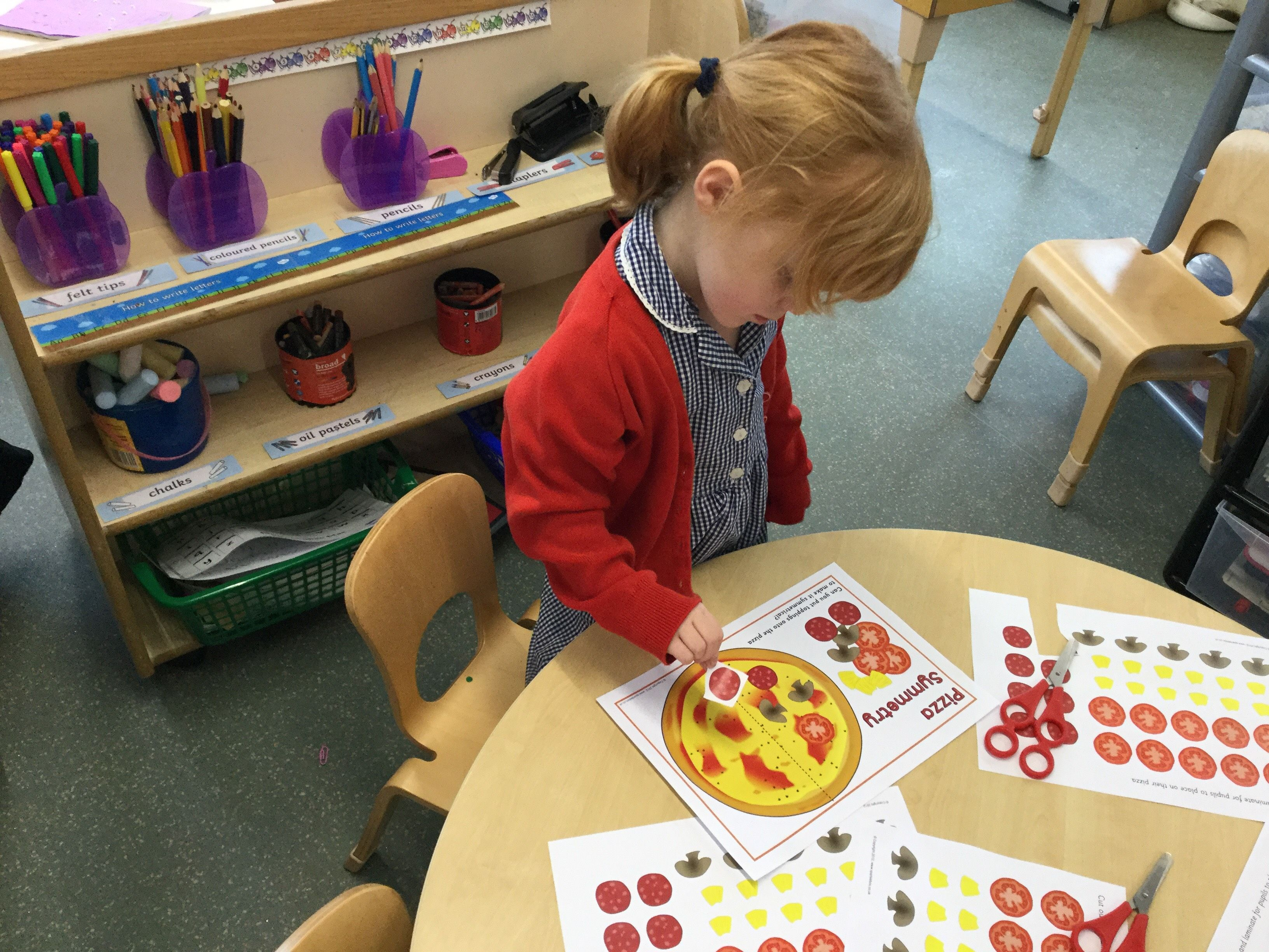 This Morning We Have Been Thinking About Symmetry The