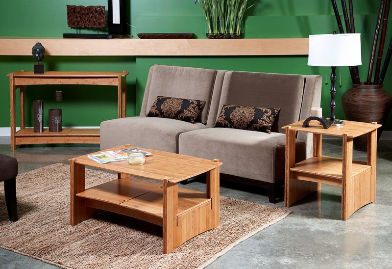 Eco Friendly Bamboo Living Room Furniture EcoFriendly Furniture