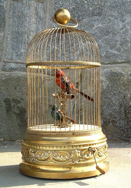 Antique French Birdcage Music Box I Have Always Wanted