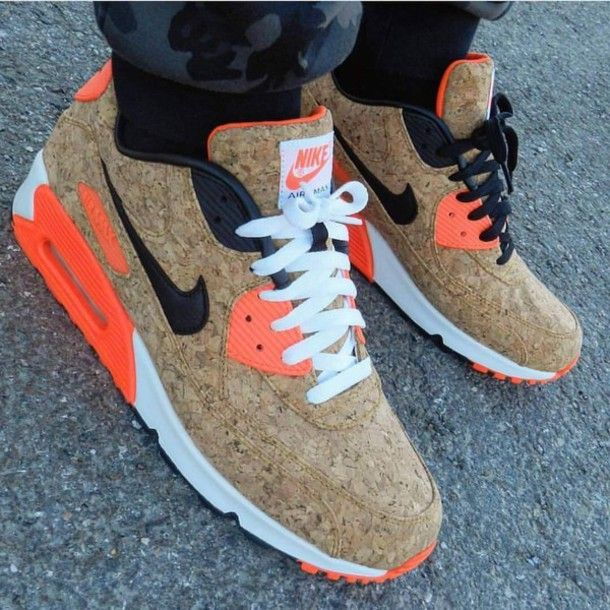 Wheretoget Nike Air Max 90th Anniversary Cork Sneakers