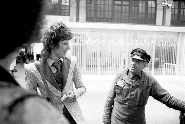 David Bowie à Paris, 1973 Photo par Joe Stevens