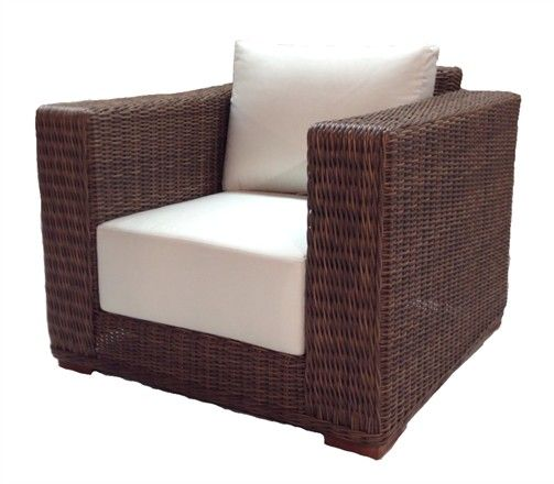 Outdoor Wicker Chair   Santa Barbara