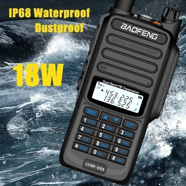 New 18W High-power Baofeng UV9R-ERA Walkie Talkie in 2020 | Emergency  radio, Walkie talkie, Ham radio