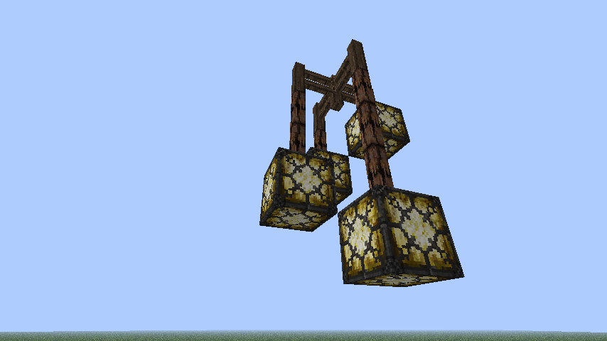 Minecraft chandelier designs google search minecraft ideas minecraft chandelier designs google search aloadofball