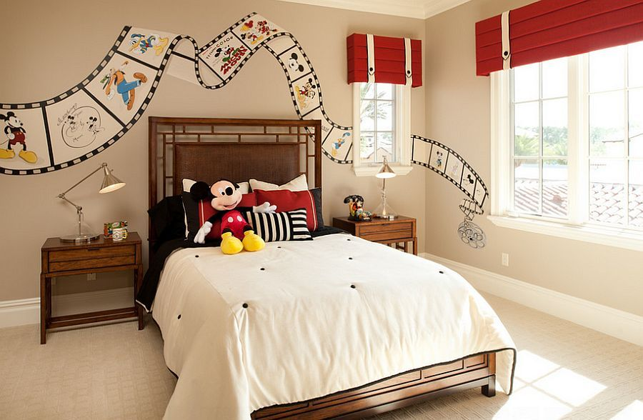 25 Disney Inspired Rooms That Celebrate Color And Creativity Disney Room Decor Disney Kids Rooms Disney Bedrooms