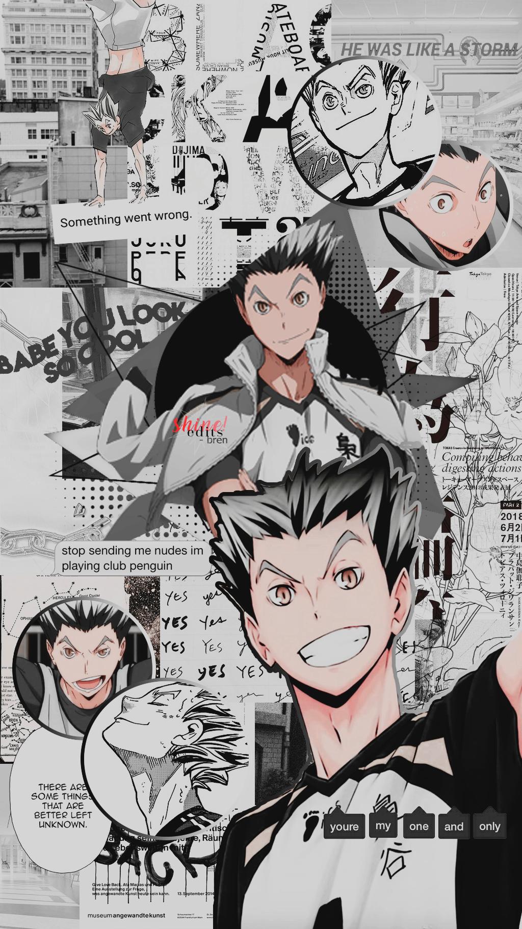 haikyuu lockscreen Tumblr in 2020 Haikyuu wallpaper