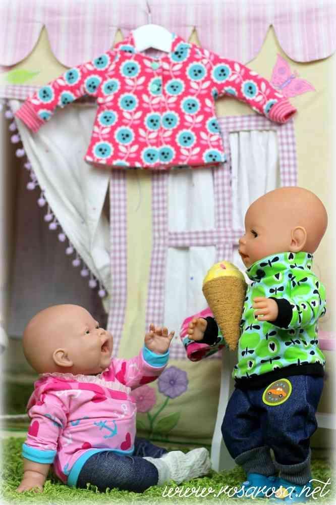 Ebook Puppenliebe ♥ 9 Schnittmuster für Puppen in 2 Größen ...