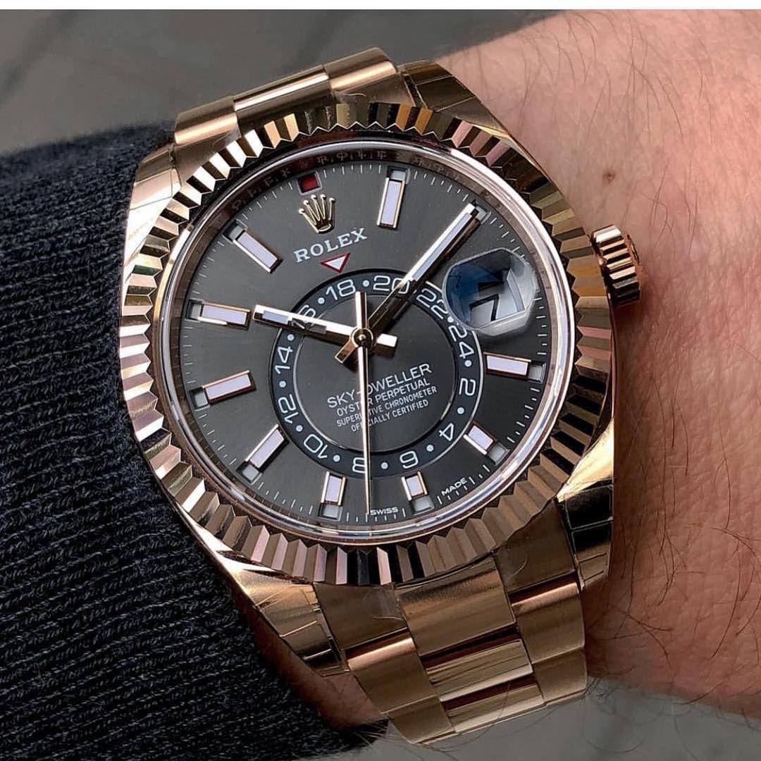 Rolex Skydweller Ref 326935 I Love This New Rhodium Dial Follow Watchesssssss Watches For Men Best Watches For Men Luxury Watches For Men
